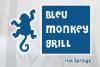 Bleu Monkey Grill Logo