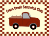 Cross Creek Sandwich Shop Logo